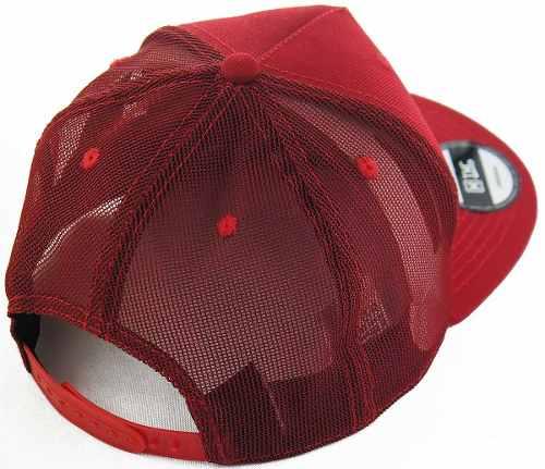 Boné TXC Brand em Tela Aba Curva Snapback Masculino Vermelho