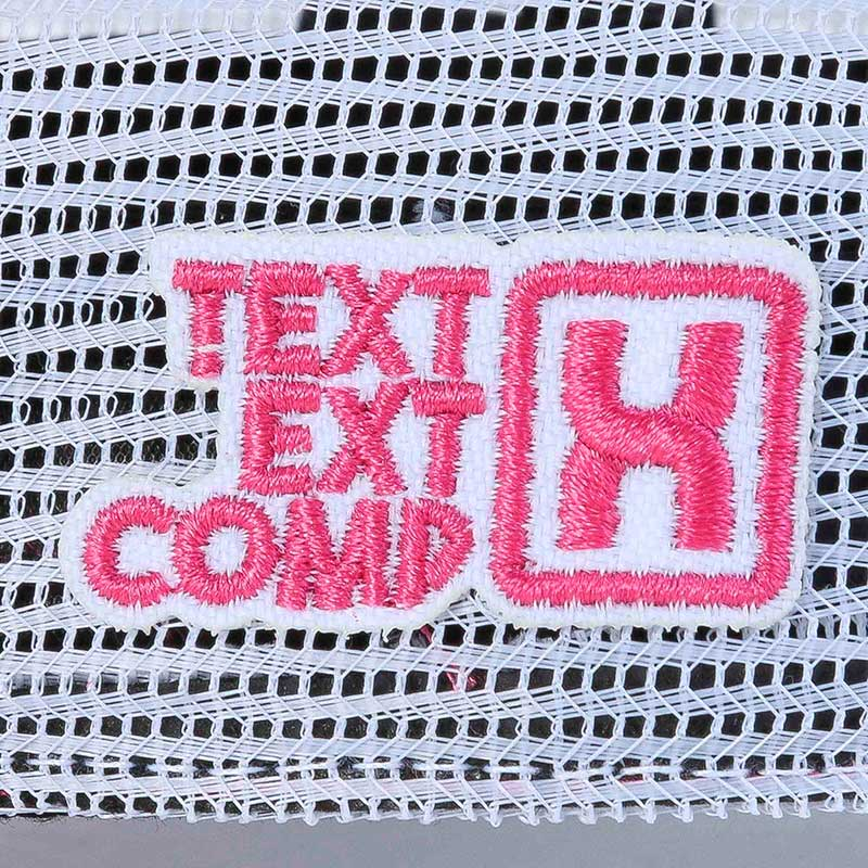 Boné TXC Custom Rosa Stonado e Branco Bordado em Relevo