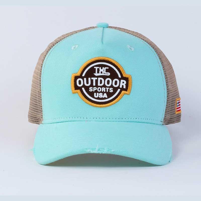Boné TXC Feminino Outdoor Sports USA Copa Quadrada Aba Curva