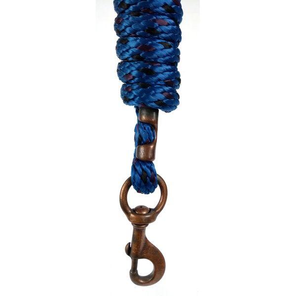 Cabo de Cabresto Weaver Leather com Mosquetão Azul/Preto