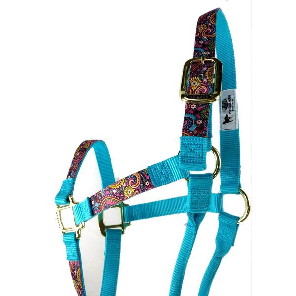 Cabresto Weaver Leather em Nylon com Estampas Coloridas - Diversas Cores