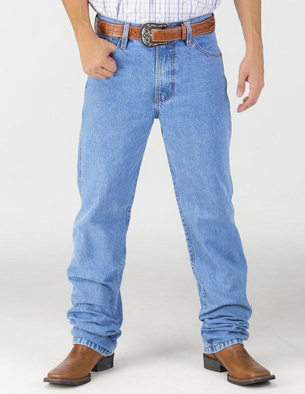 Calça Jeans Fast Back Masculina Delave 100% Algodão