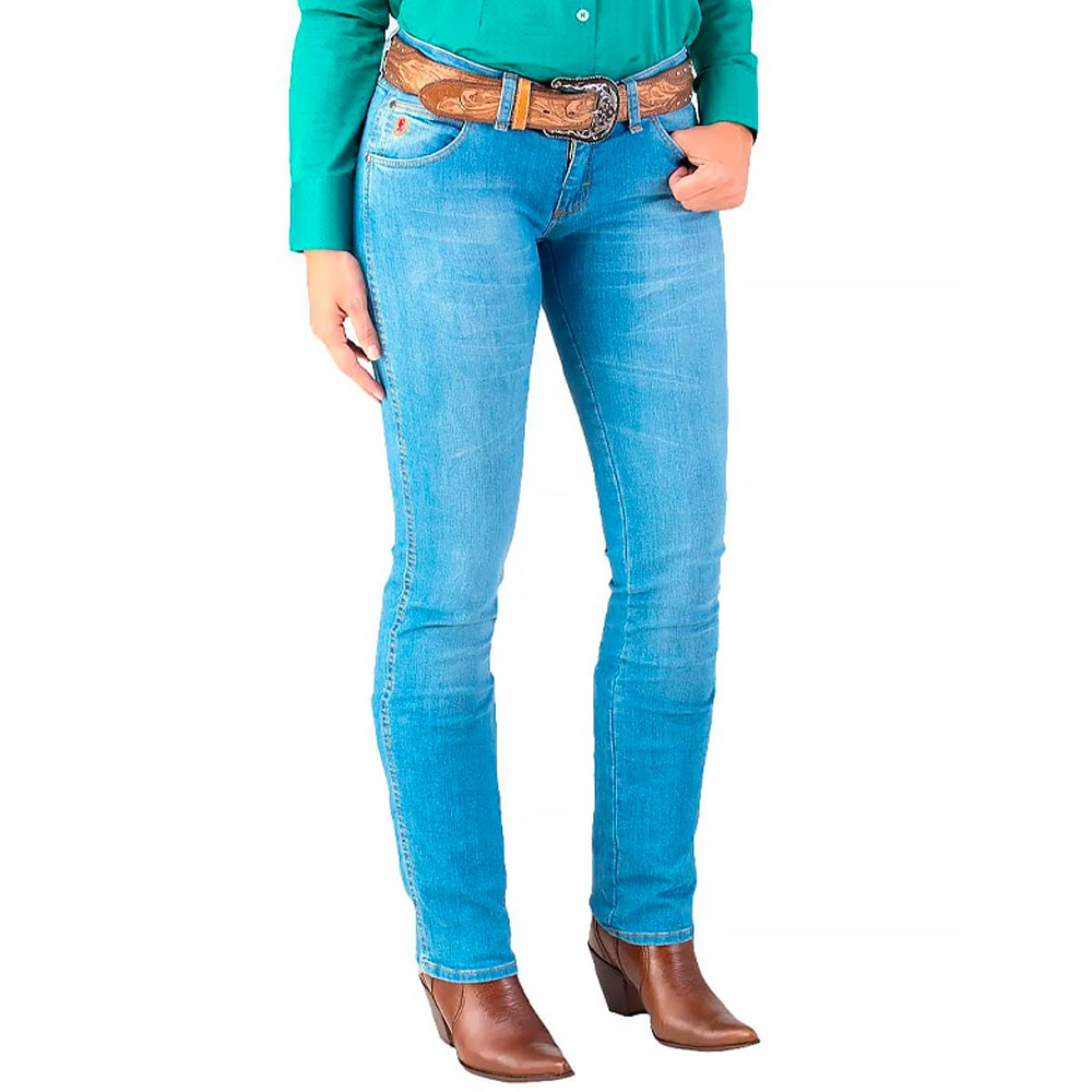 Calça Jeans Feminina Wrangler 20X Light Clara