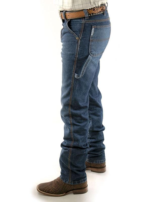 Calça Jeans King Farm Masculina Carpinteira Blue