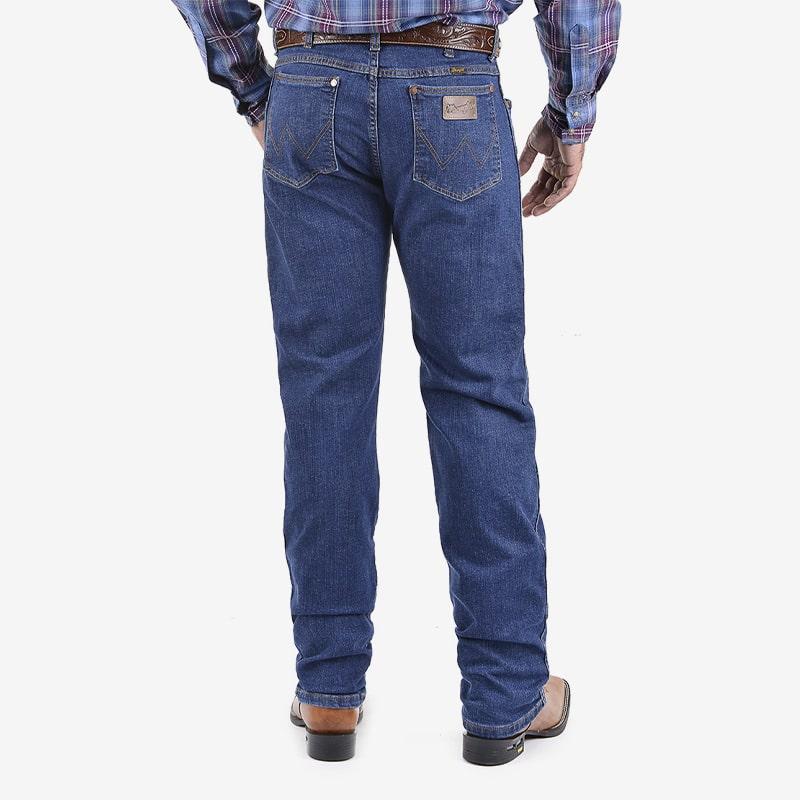 Calça Jeans Wrangler Masculina Escura Original Cowboy Cut