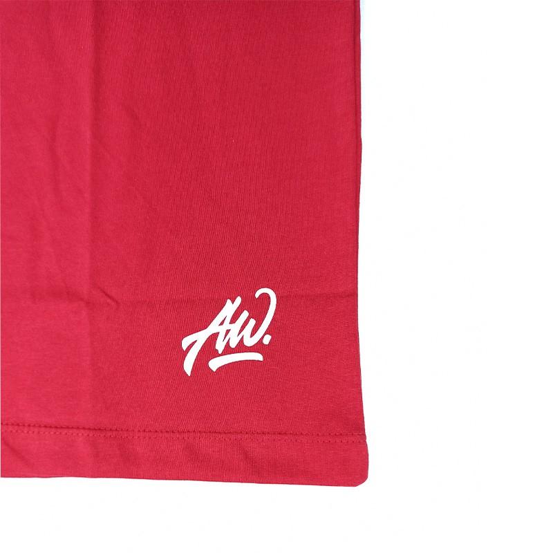 Camiseta Masculina Austin Western Vermelho Estampada