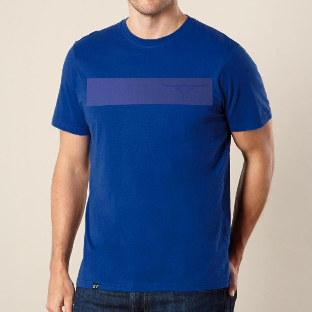 Camiseta Masculina King Farm Azul
