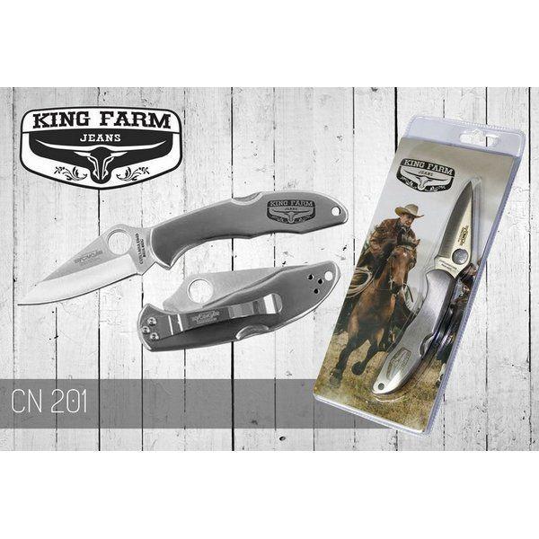 Canivete para Bolso de Aço Inoxidável King Farm