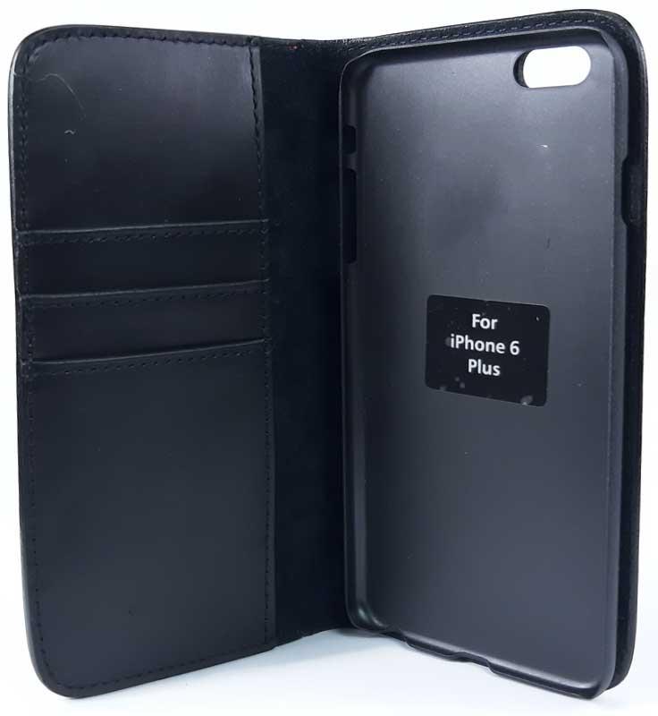 Capinha Celular Flip Iphone 6 Plus em Couro Trabalhado Inervo Tony Lama