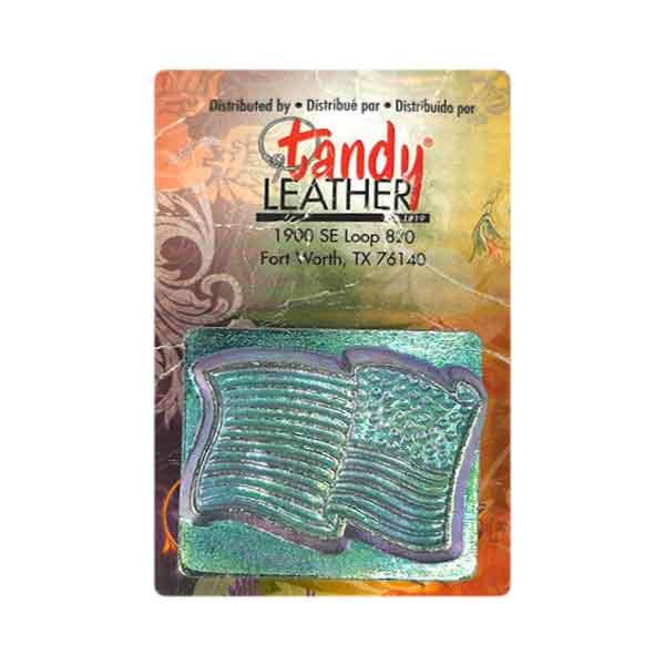 Carimbo Couro Bandeira USA Tandy Leather 88354-00 Importado