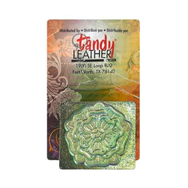 Carimbo de Estampa Floral Tandy Leather 8656-00 Importado