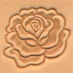 Carimbo Estampar Botão de Rosa 3D Tandy Leather 88493-00