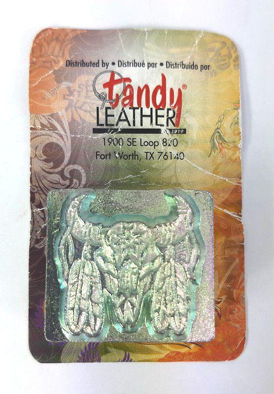 Carimbo para Estampar Crânio Indiano Tandy Leather 88436-00
