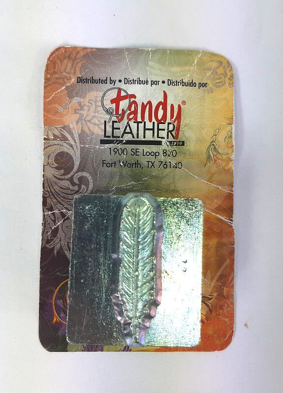 Carimbo para Estampar Pena Tandy Leather 88502-00 Importado