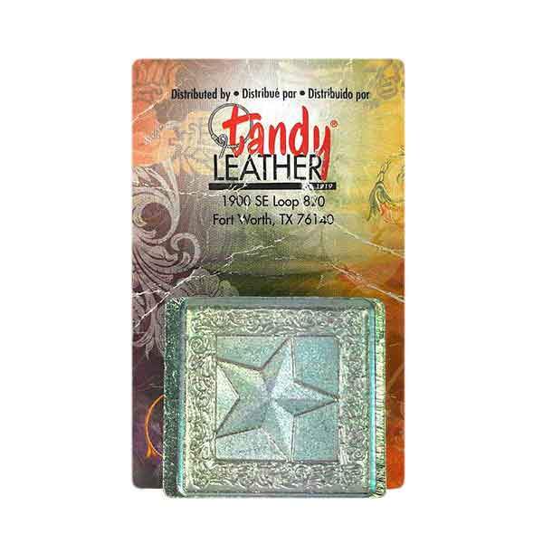 Carimbo pra Estampar Estrela Tandy Leather 8672-00 Importado