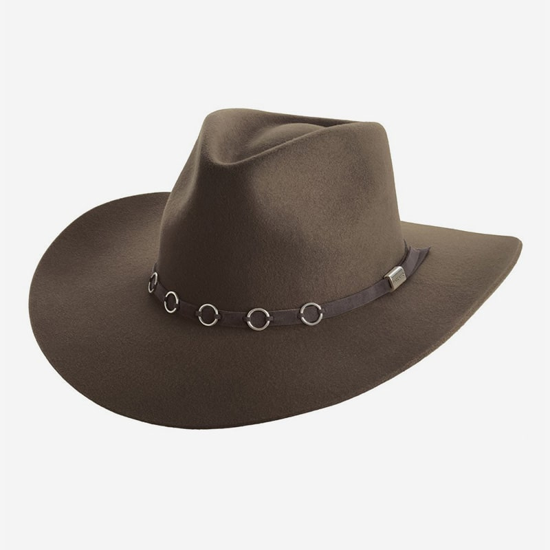 Chapéu de Feltro Marcatto Hondo Tabaco Cavalgada Muladeiro