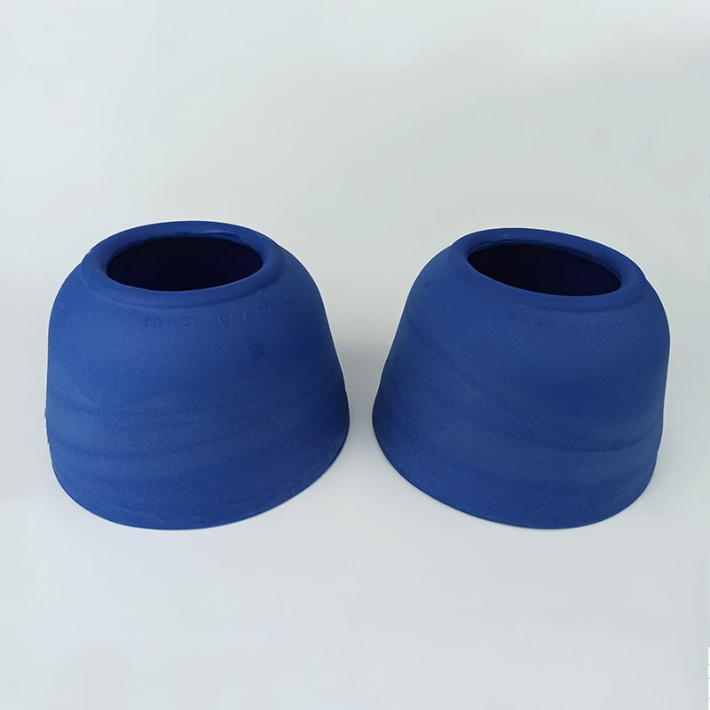 Cloche de Borracha Horse Craft Azul