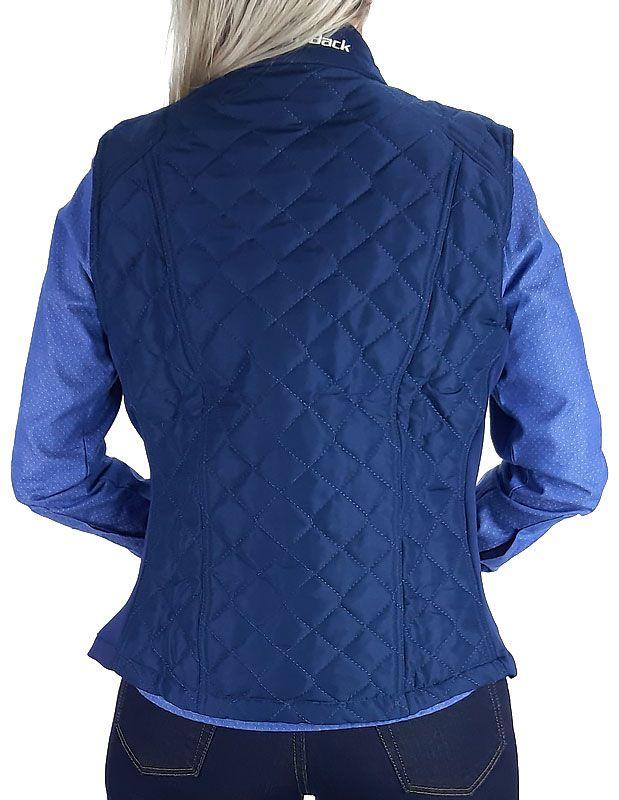 Colete Feminino Fast Back Exclusivo Azul Marinho