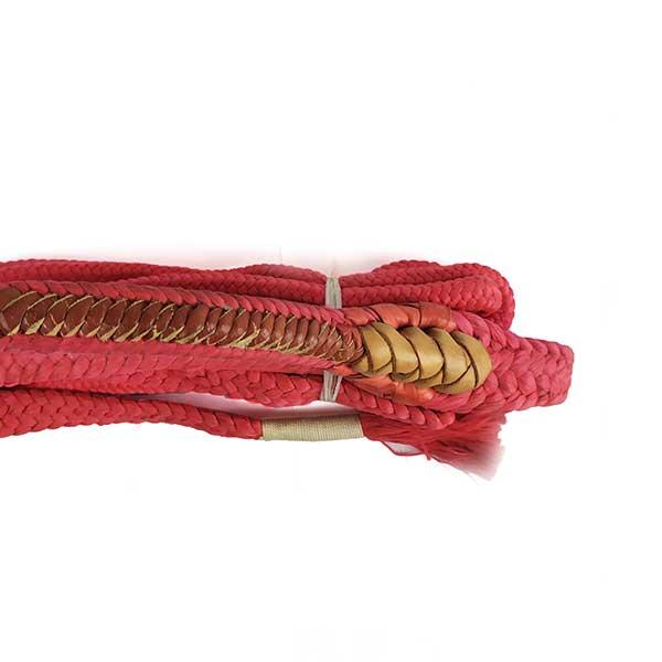 Corda para Montaria Nacional ZR JO Mão Direita Vermelho