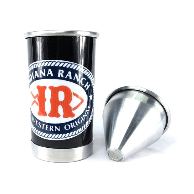 Cuspidor de Fumo Indiana Ranch em Alumínio