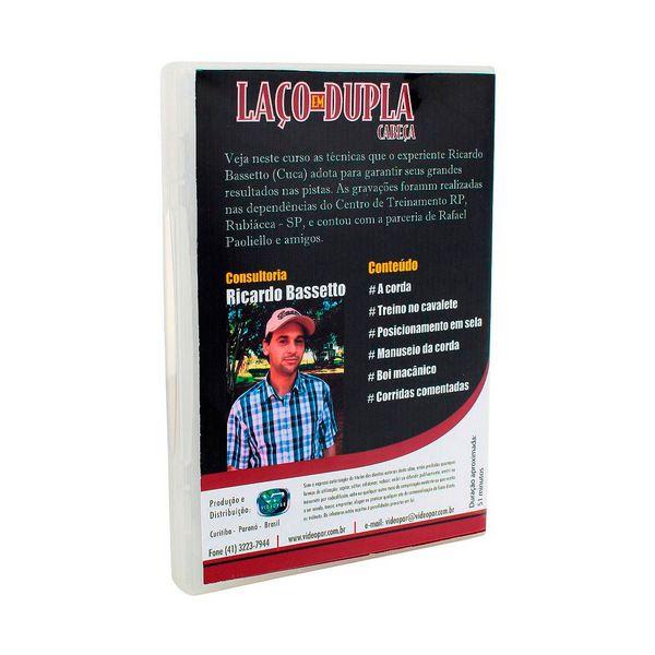 DVD Laço em Dupla Cabeça com Ricardo Bassetto