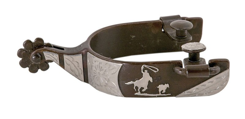 Espora de Cavalo Level 2 Importada Calf Roper Partrade 239086