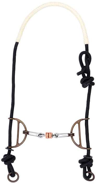 Freio Bridão de Cavalo Level 4 Importado Partrade 250001 Copper Ring Gag