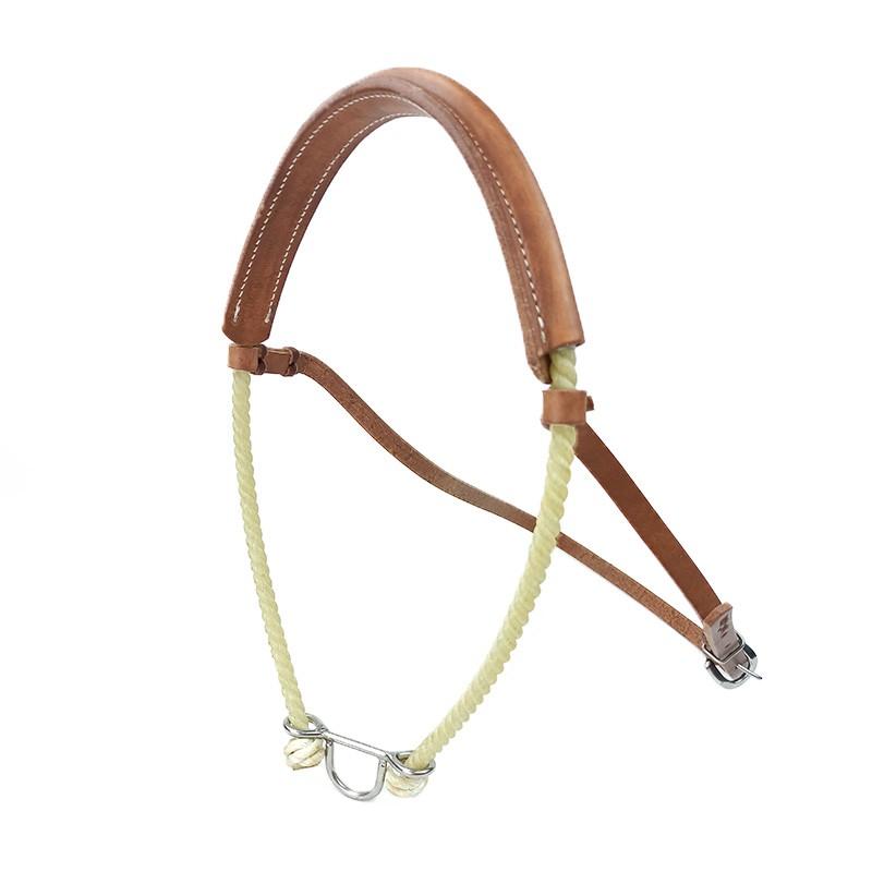 Gamarra  para Cavalo Top Equine em Corda com Couro Reforçado