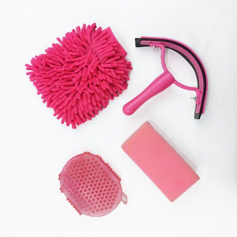 Kit de Higiene para Cavalo Multicolor Rosa