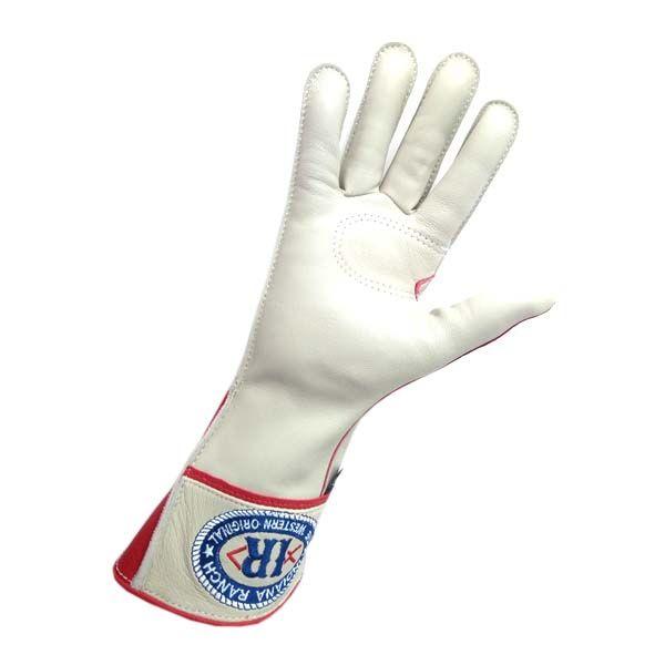 Luva Para Montaria Mão Direita Couro Resistente
