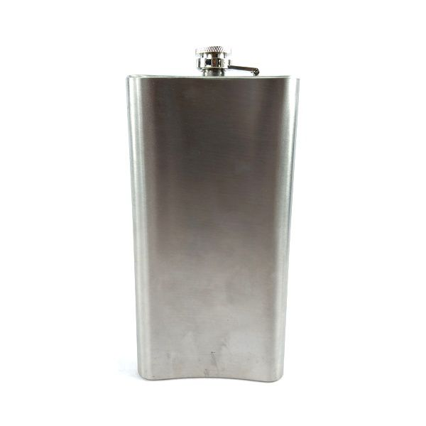 Pocket Drink Western Importado de Metal Liso Fino