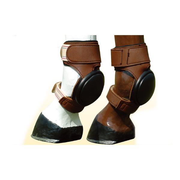 Skid Boot para Cavalo Partrade de Couro Lami-Cell