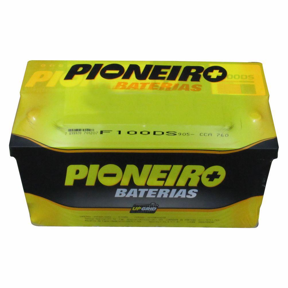 BATERIA 100 AMPERES POLO POSITIVO DIREITO IVECO NOVA DAILY 3.0 16V APOS 2008/FIAT DUCATO/PEUGEOT BOXER/CITROEN JUMPER/RENAULT MASTER PIONEIRO