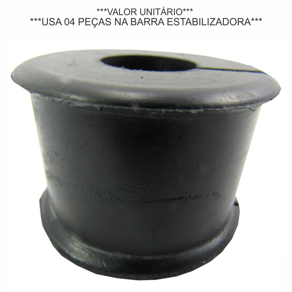 BUCHA BARRA ESTABILIZADORA DIANTEIRA IVECO DAILY 2.8 8V 1997 A 2007/NOVA DAILY 3.0/ DAILY MY APOS 2019 93802248