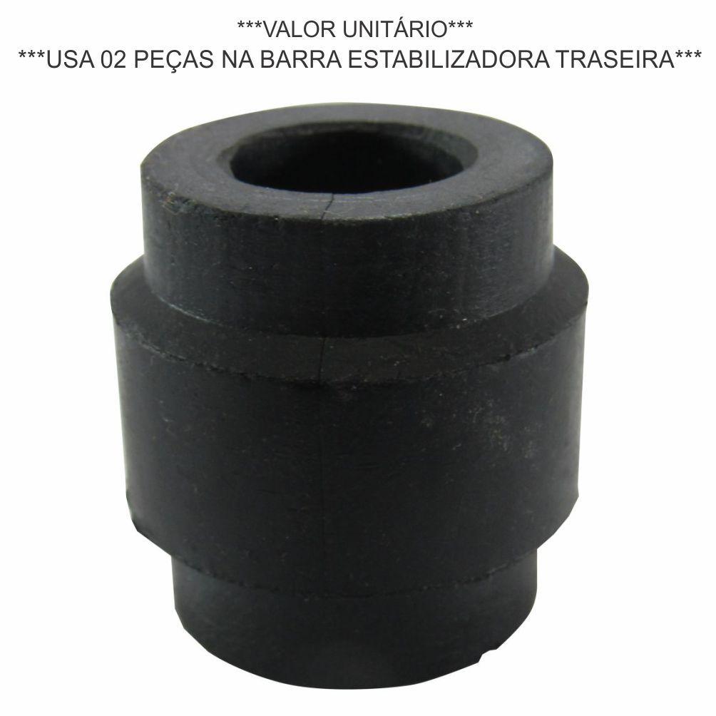BUCHA BARRA ESTABILIZADORA TRASEIRA REDONDA IVECO DAILY 2.8 8V 1997 A 2005/DAILY CITY 30S13/DAILY MY 30-130 8581022