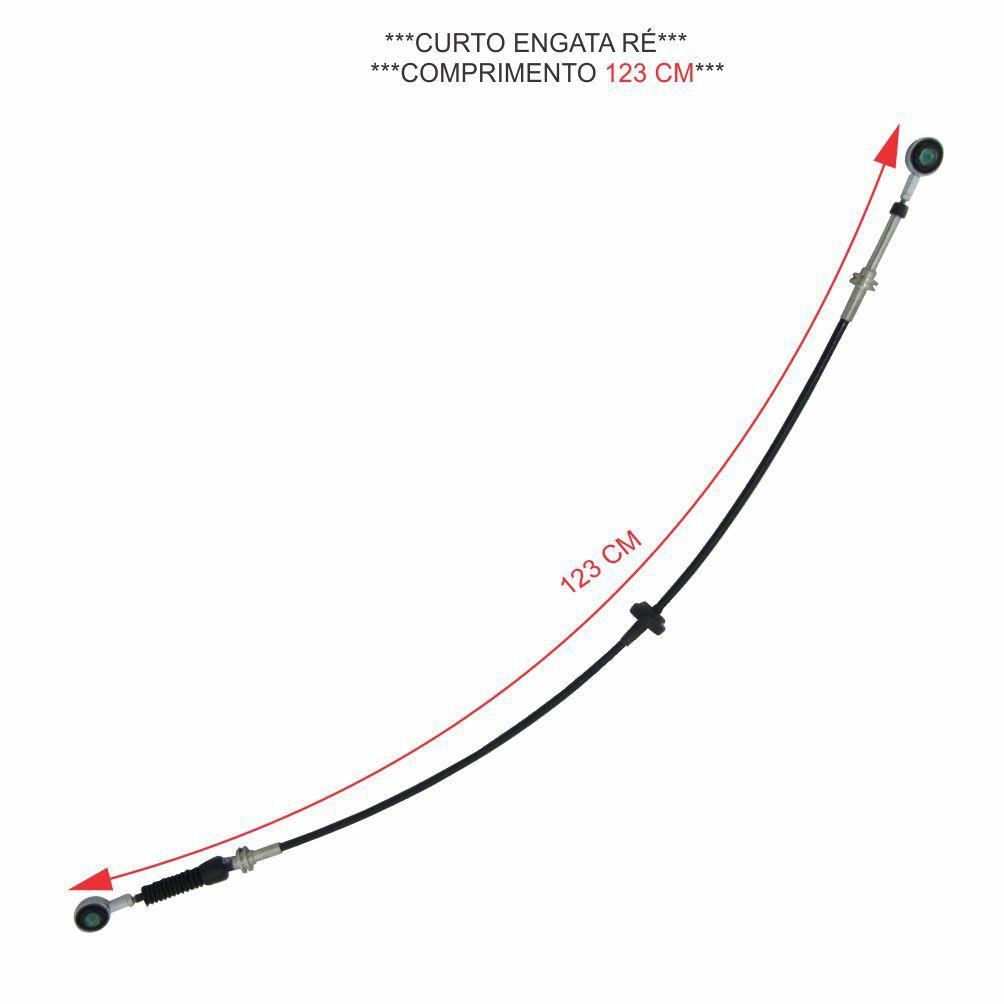 CABO ALAVANCA CAMBIO (CURTO) NOVA DAILY 3.0 16V 35S14/45S14/45S16/55C16 2008 A 2011 (EURO 3) ORIGINAL 5801261087 C