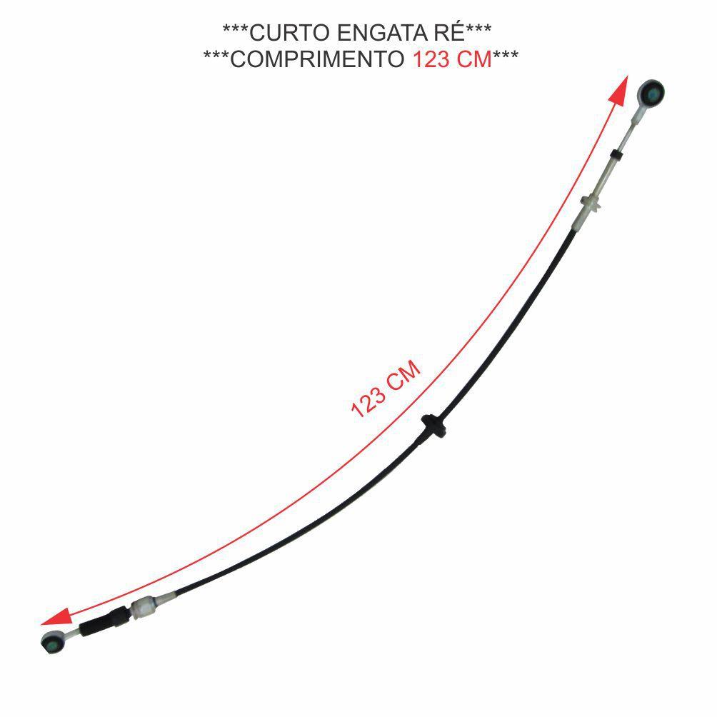 CABO ALAVANCA CAMBIO (CURTO) IVECO NOVA DAILY 70C16 2008 A 2011 (EURO3) 5801261098 D
