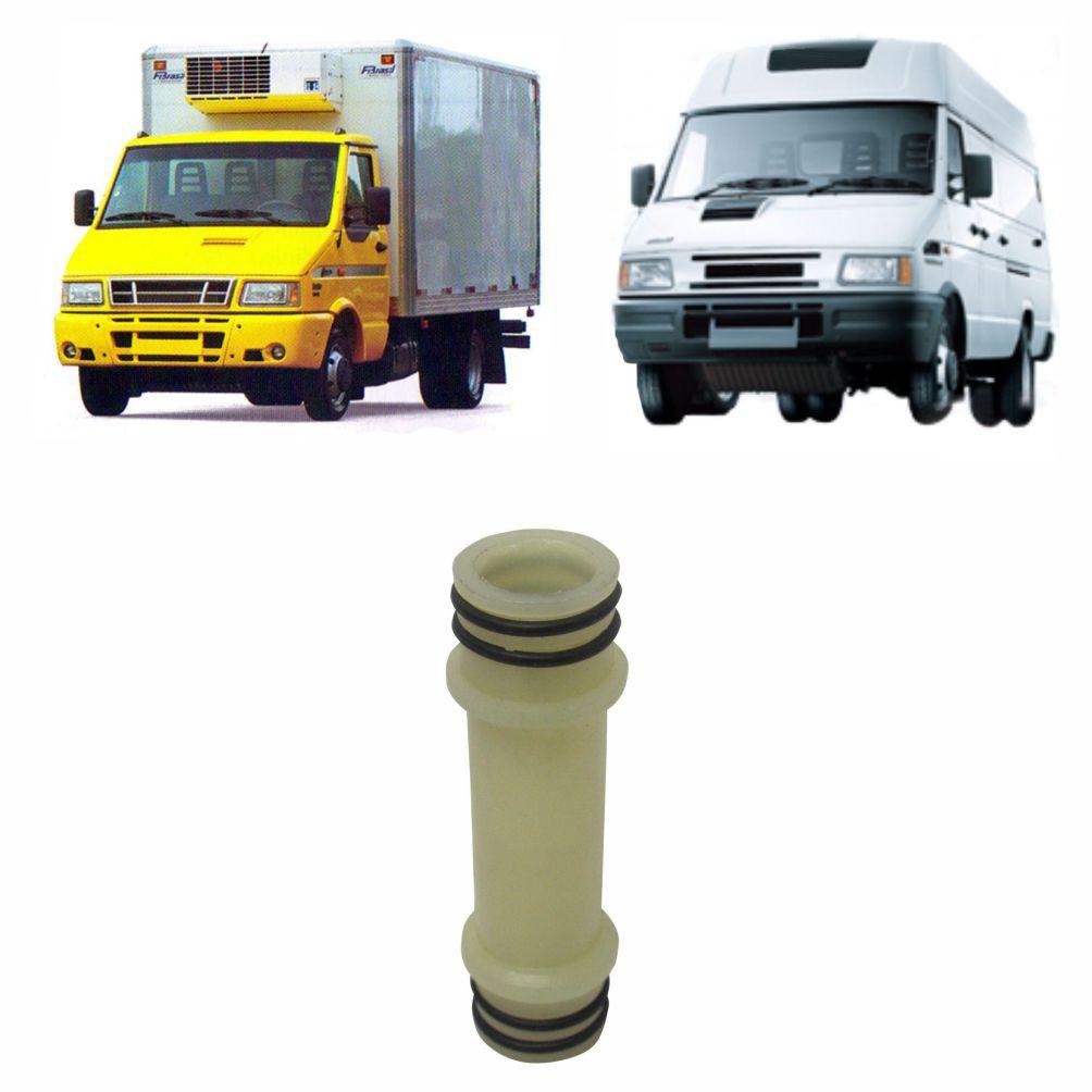 CANO TUBO PLASTICO BOMBA ÁGUA MOTOR IVECO DAILY 2.8 8V 3510/3513/3813/4012/4013/4910/4912/5013/5912/6012/6013/7012/7013 99443808