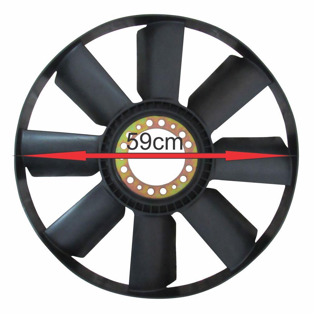 HÉLICE RADIADOR MOTOR IVECO EUROCARGO/TECTOR (MOTOR MWM/CUMMINS) 504029737 C