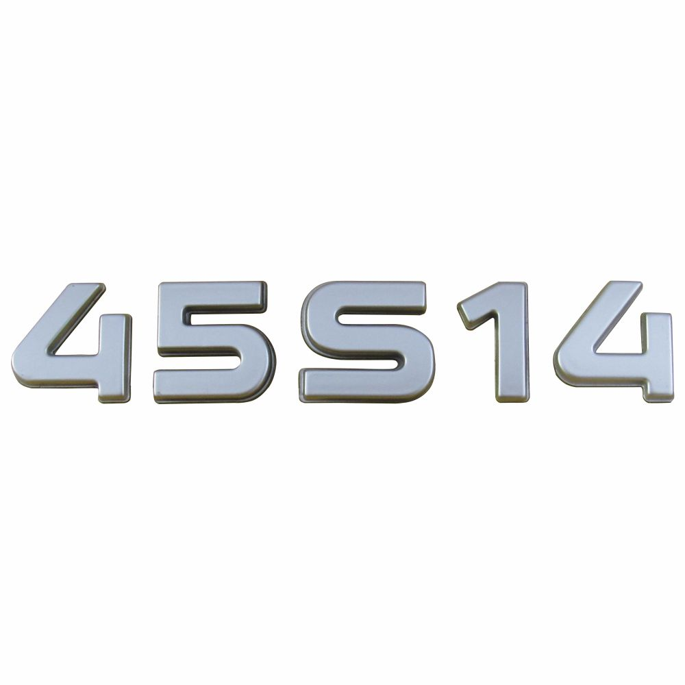 SIGLA EMBLEMA 45S14 LATERAL CROMADO DAILY 3.0 16V 45S14 2008 A 2011 EURO 3 93981442