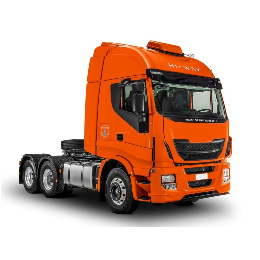 TAPETE PVC PRETO ANTI CHAMA  IVECO NOVO STRALIS 440/480/560 HI - WAY APÓS 2012 300606