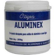 Aluminex Fluxo em Pó para Soldagem e Brasagem 200gr Oxigen