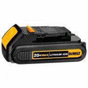 Bateria 20V para Furadeira e Parafusadeira DCB201-B3 Dewalt