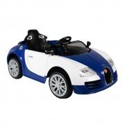 Carrinho Elétrico Bugatti 12v com radio mp3 e  controle remoto - Bel
