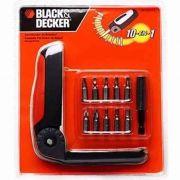 Conjunto para Parafusar de Bolso 12 peças BD7258 LA Black & Decker