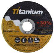 """Disco Corte  4.1/2"""" X 1,0 X 7/8"""" Inox - Titanium"""