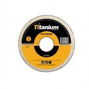 """Disco Corte  7"""" X 1,6 X 7/8"""" Inox - Titanium"""
