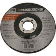 Disco de Desbaste 4. 1/2 X 1/4 X 7/8 Pol. BDA0413 Black & Decker