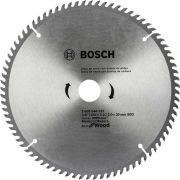 Disco de Serra Circular 10 Pol. Eco Madeira 80 dentes Bosch