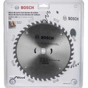 Disco de Serra Circular 9.1/4 Pol. Eco Madeira 24 dentes Bosch